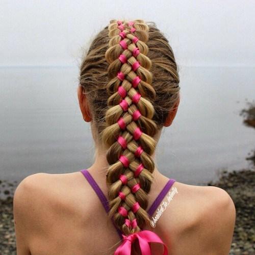 Tremendous 20 Sweet Braided Hairstyles For Girls Pretty Designs Hairstyles For Women Draintrainus