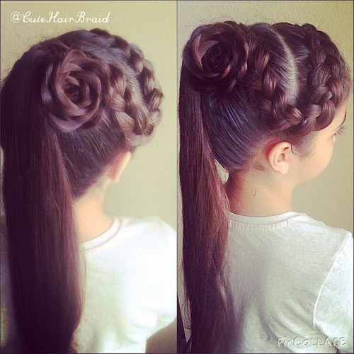 Superb 20 Sweet Braided Hairstyles For Girls Pretty Designs Hairstyles For Men Maxibearus