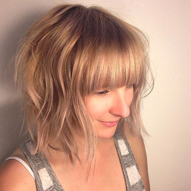 Awe Inspiring 22 Chic Bob Hairstyles With Bangs Pretty Designs Hairstyles For Women Draintrainus