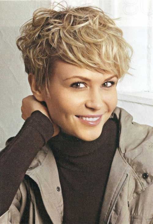 19 Cute Wavy Curly Pixie Cuts For Short Hair Pretty Designs