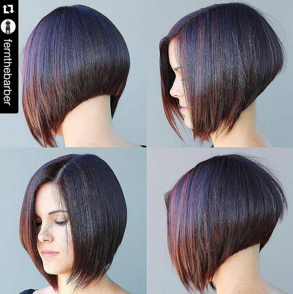 Fantastic 22 Cute Amp Classy Inverted Bob Hairstyles Pretty Designs Short Hairstyles For Black Women Fulllsitofus