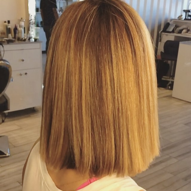 9 Simple Blunt Bob Hairstyles For Medium Hair Pretty Designs
