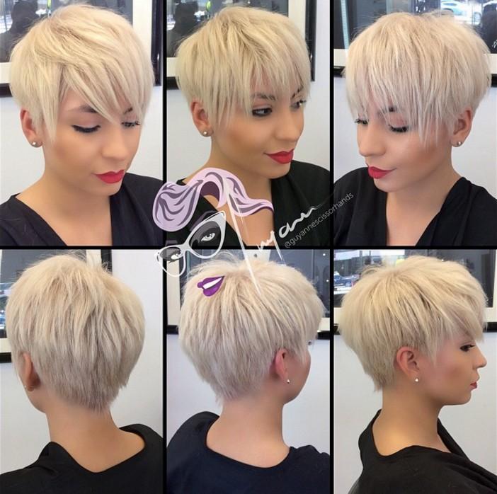 long pixie cut for short hair
