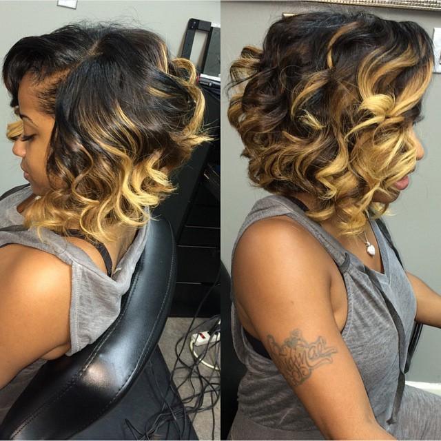 Stupendous Top 21 Best Bob Hairstyles For Black Women Pretty Designs Hairstyles For Women Draintrainus