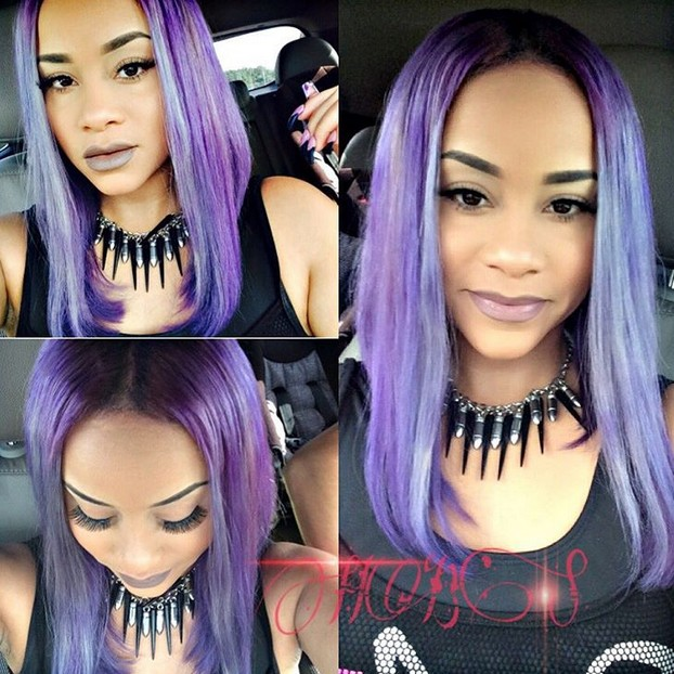 Groovy 21 Gorgeous Pastel Purple Hairstyles Pretty Designs Hairstyles For Women Draintrainus