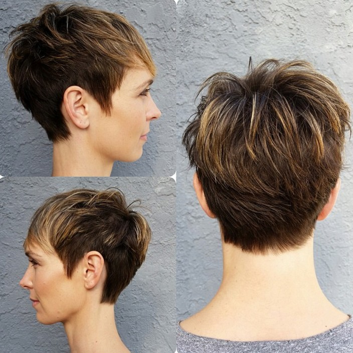 18 Simple Easy Short Pixie Cuts For Oval Faces Pretty Designs