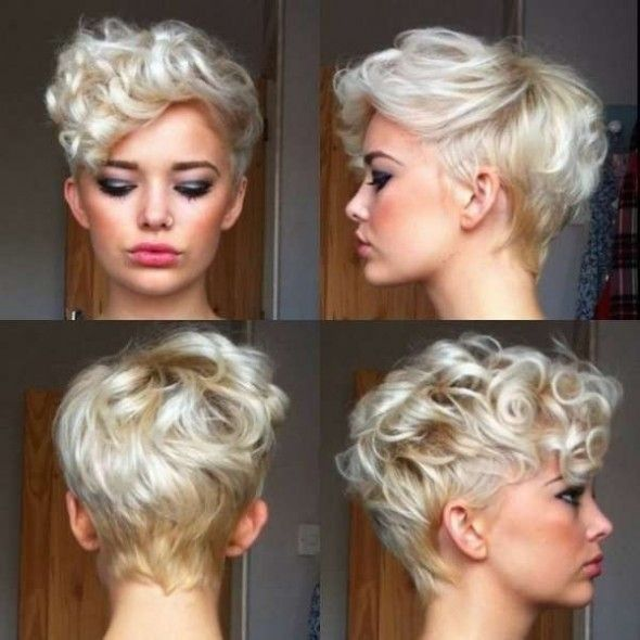Excellent 19 Cute Wavy Curly Pixie Cuts For Short Hair Pretty Designs Short Hairstyles For Black Women Fulllsitofus