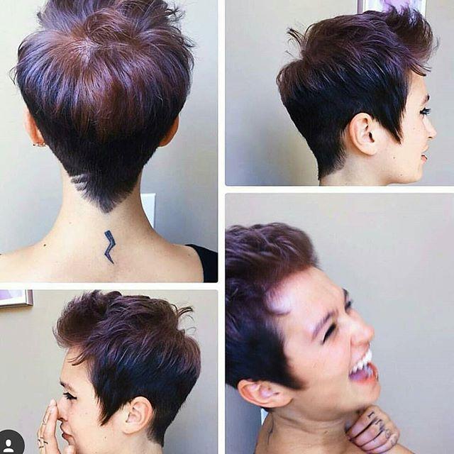 short haircut designs - spiked pixie cut