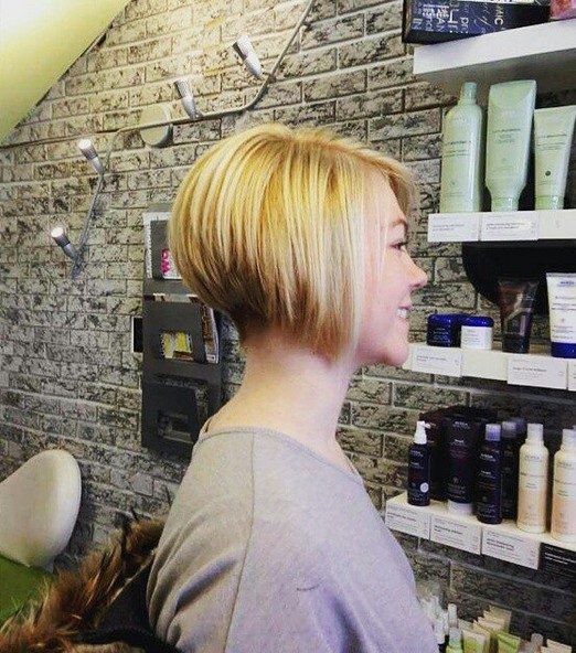 Stupendous 22 Cute Amp Classy Inverted Bob Hairstyles Pretty Designs Short Hairstyles Gunalazisus