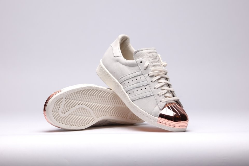 adidas SUPERSTAR WOMENS White/White/Embossed Hype DC