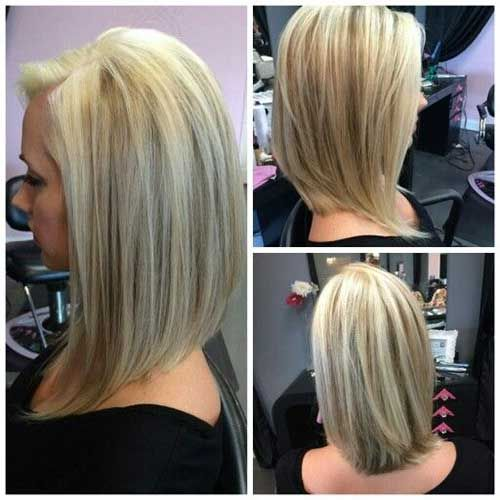 A-Line Long Bob Hairstyle