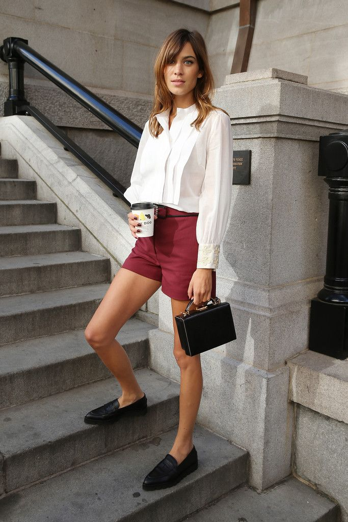 Alexa Chung's Loafers