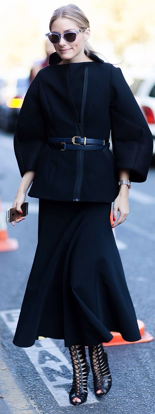 All-black Outfit