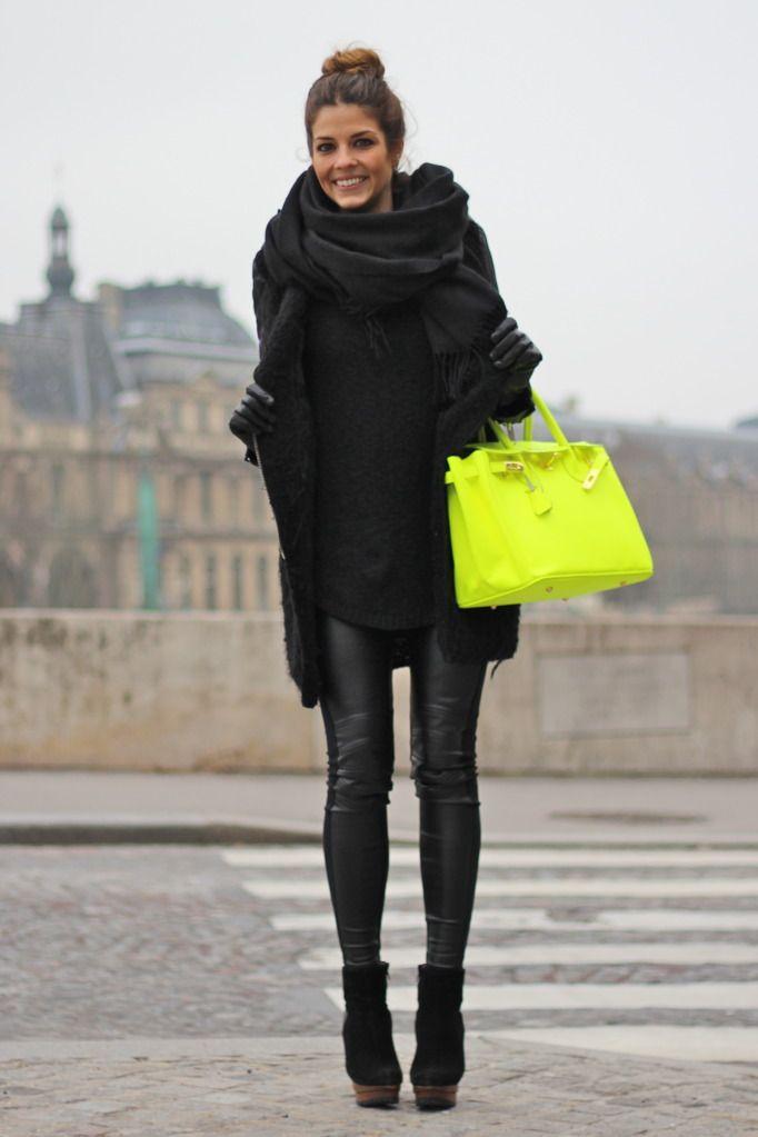 Black Style in Winter