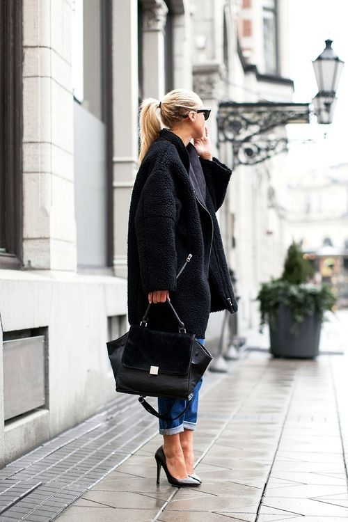 21 Black Outfit Styles For The Season Pretty Designs