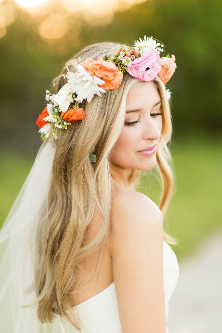 10 boho-chic wedding hairstyles for 2017 - pretty designs