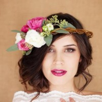 Boho-Chic Wedding Hairstyle