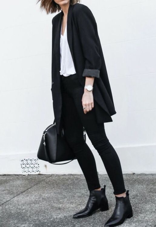 Cool Black Outfit