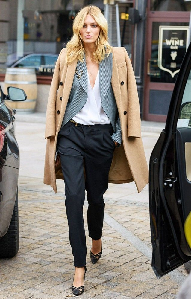 Cool Camel Coat Outfit