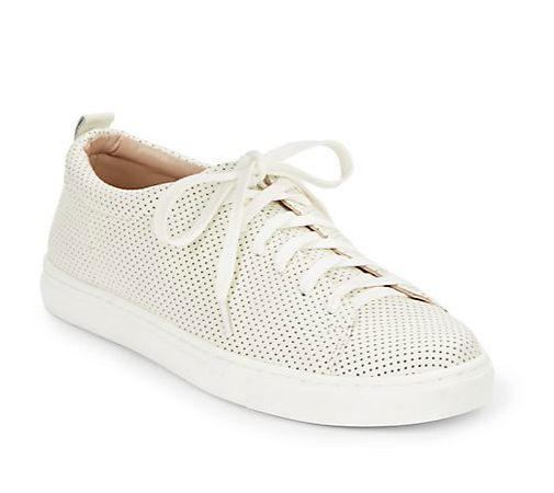Dolce Vita Oriel Perforated Leather Sneaker