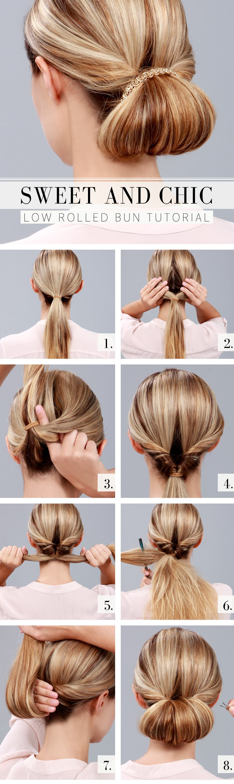 Casual Updos Tutorial: Braided Side Bun Hairstyles pictures