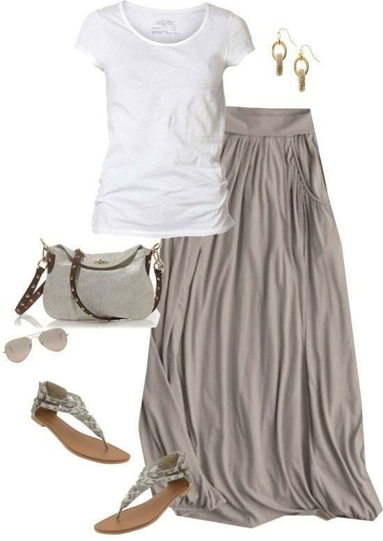 Easy Skirt Outfit