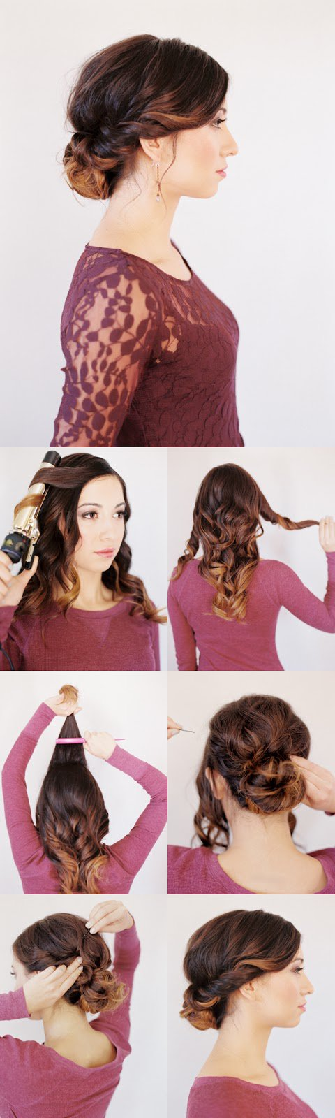 16 Stunning Hairstyles with Step-by-Step Tutorials - Pretty Designs