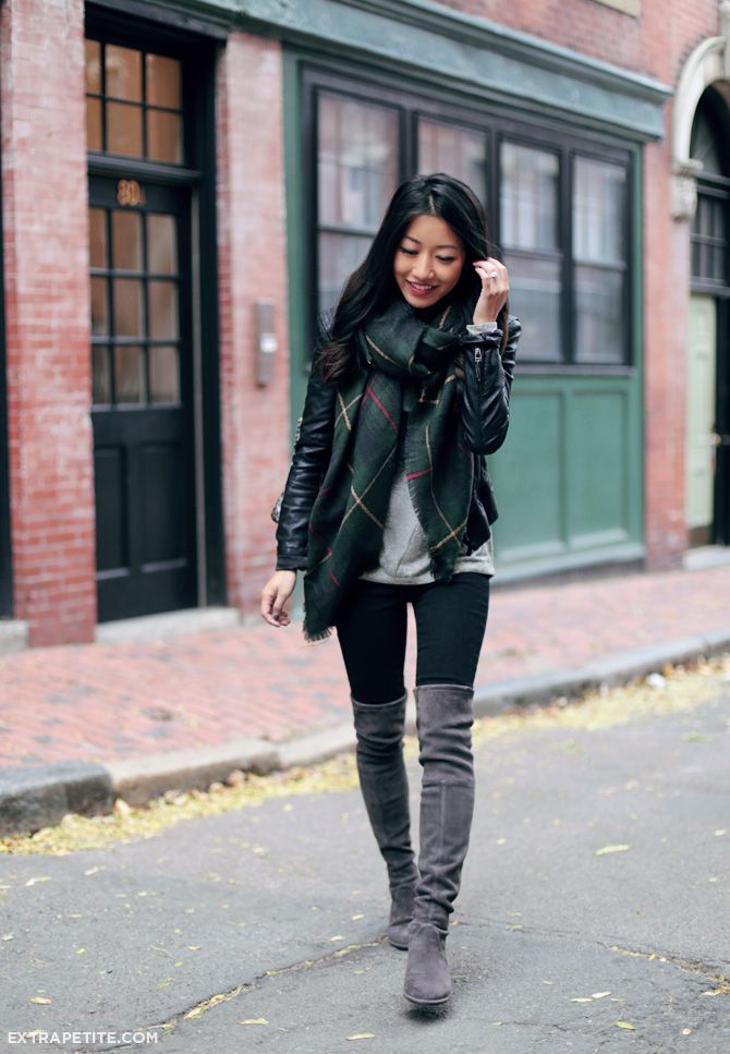 19 Ways to Wear Your Knee-high Boots - Pretty Designs