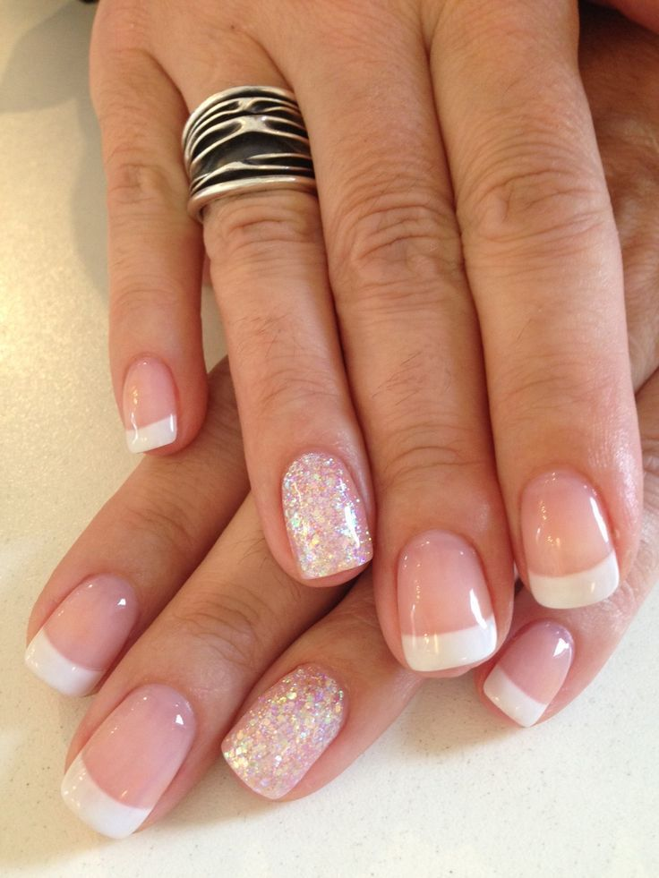 French Manicure Designs Ideas 2018