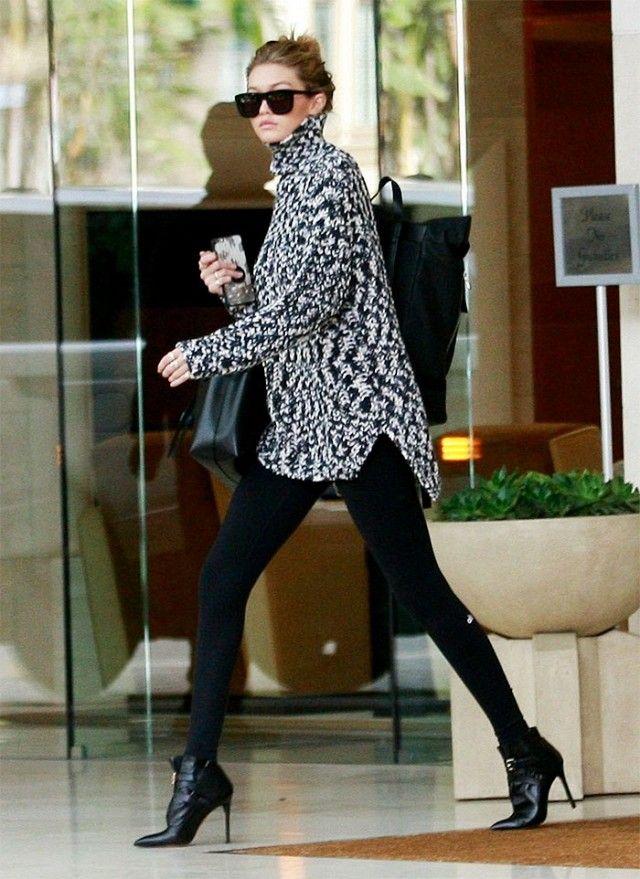 Gigi Hadid's Ankle Boots