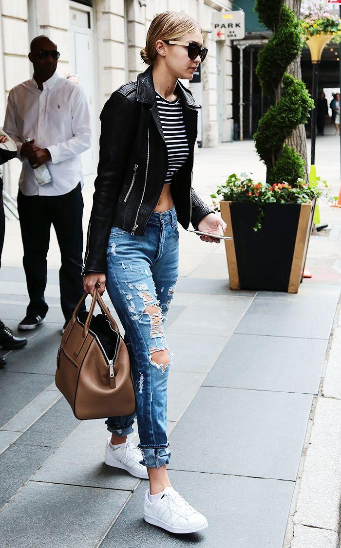 Gigi Hadid's Ripped Jeans