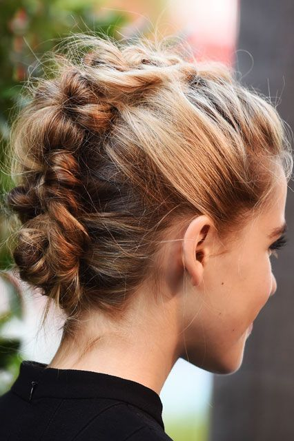 Gorgeous Faux Hawk Updo