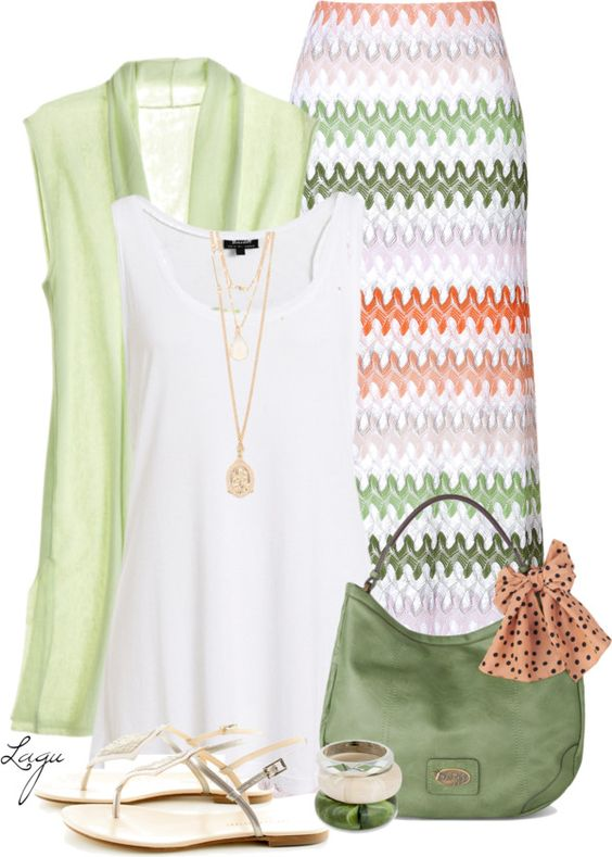 Green Tone Outfit