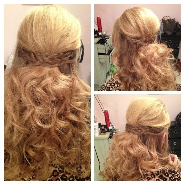 11 Easy and Quick Half Up Braid Hairstyles - Pretty Designs
