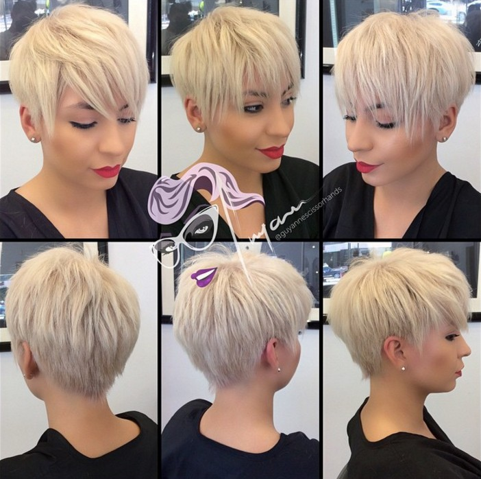 Layered Pixie Haircut for Thick Hair