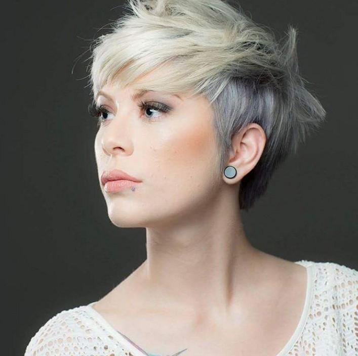 Layered Pixie Haircut for Fine Hair