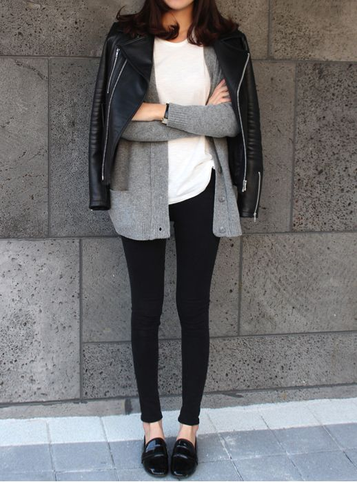 Layers with Loafers