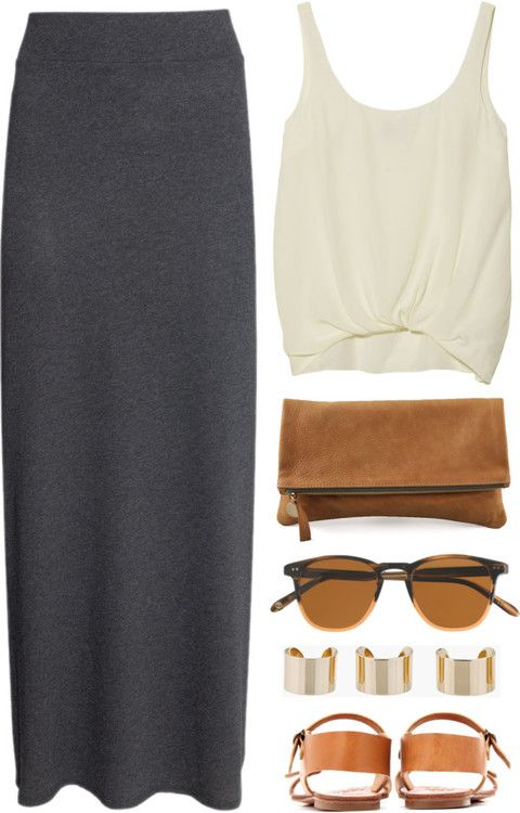 Lazy Skirt Outfit