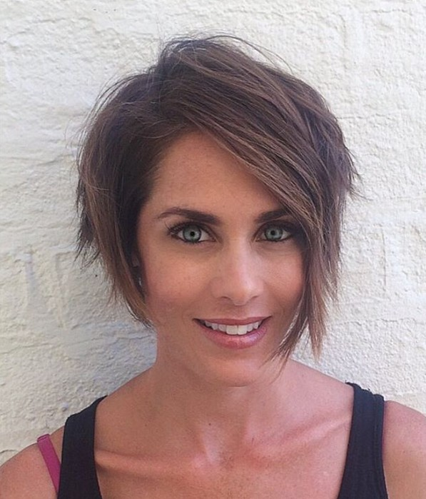 Messy Long Pixie Hairstyle