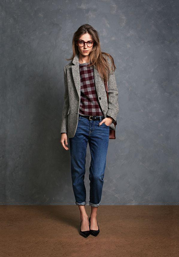 Long Tweed Blazer