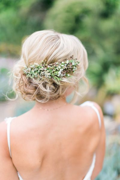 Natural Bridal Hairstyle