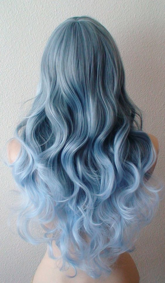 Pastel Hair Color Ombre