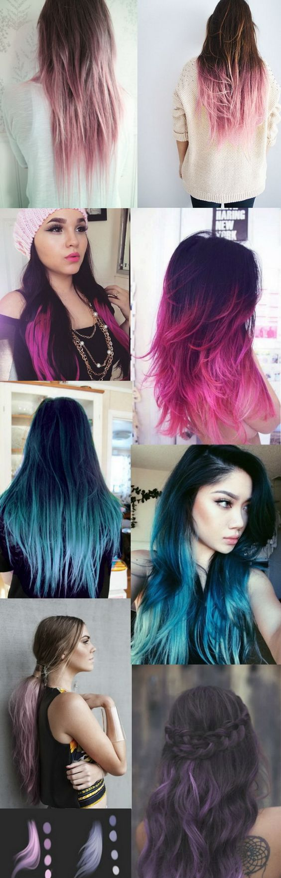 Pastel Ombre Hairstyles