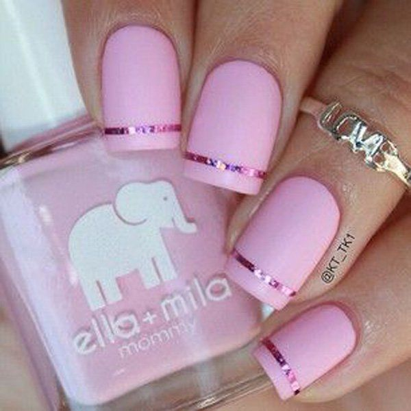 Pink Matte Nails - 25 Cute Matte Nail Designs You Will Love - Pretty Designs