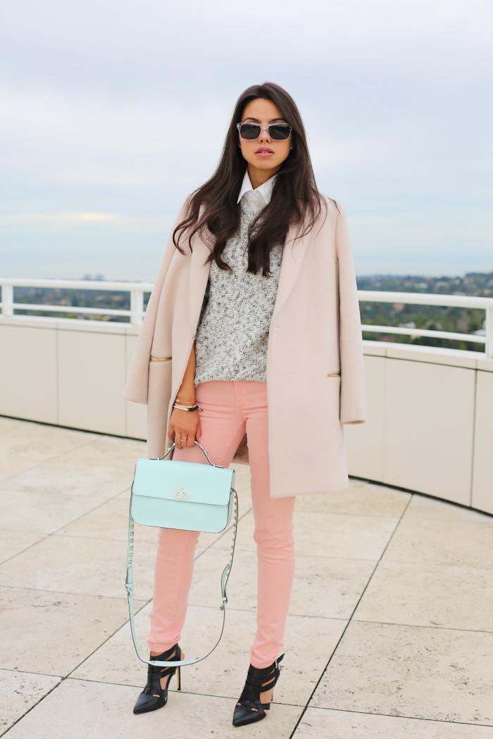 Rose Quartz Coat