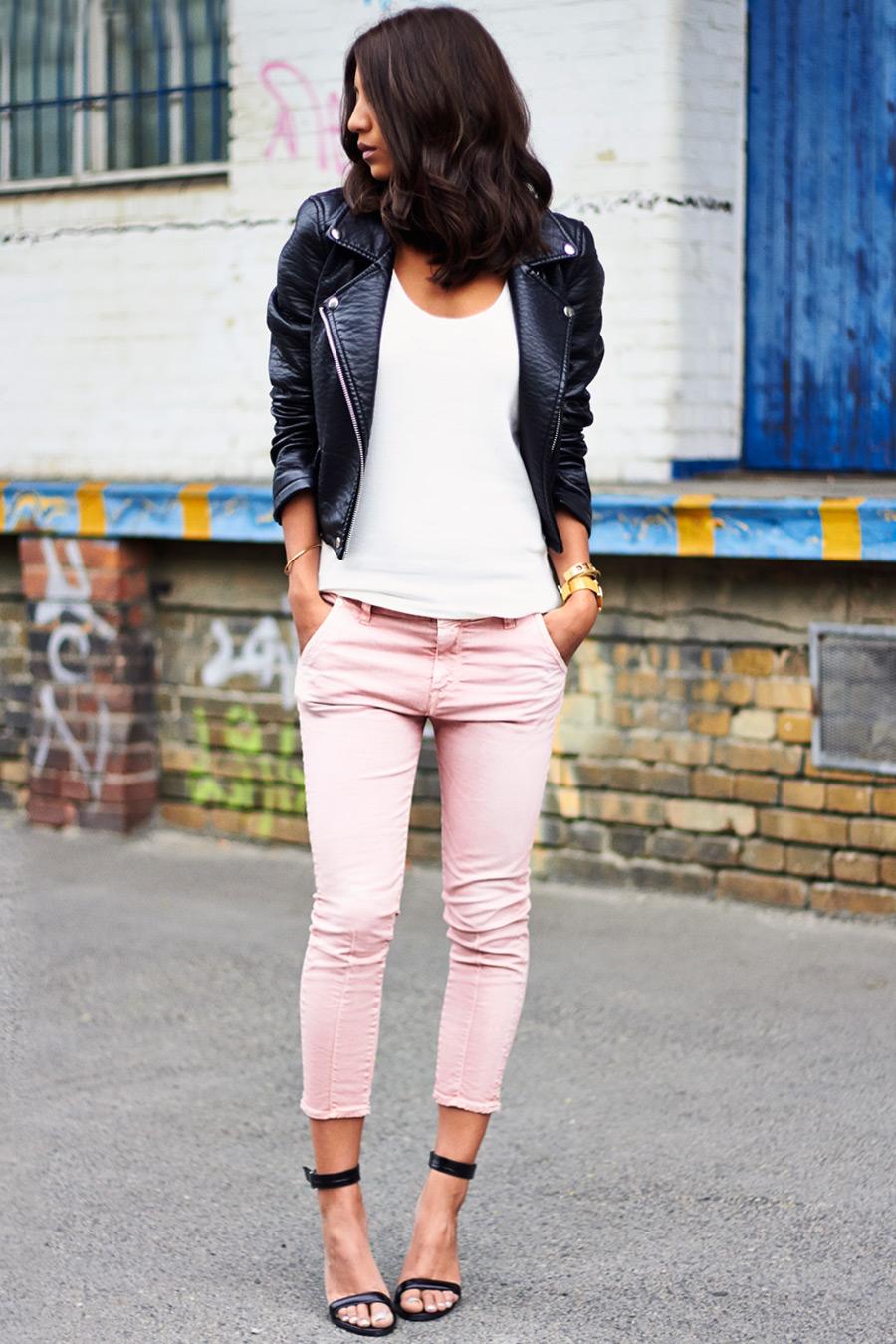 Rose Quartz Jeans