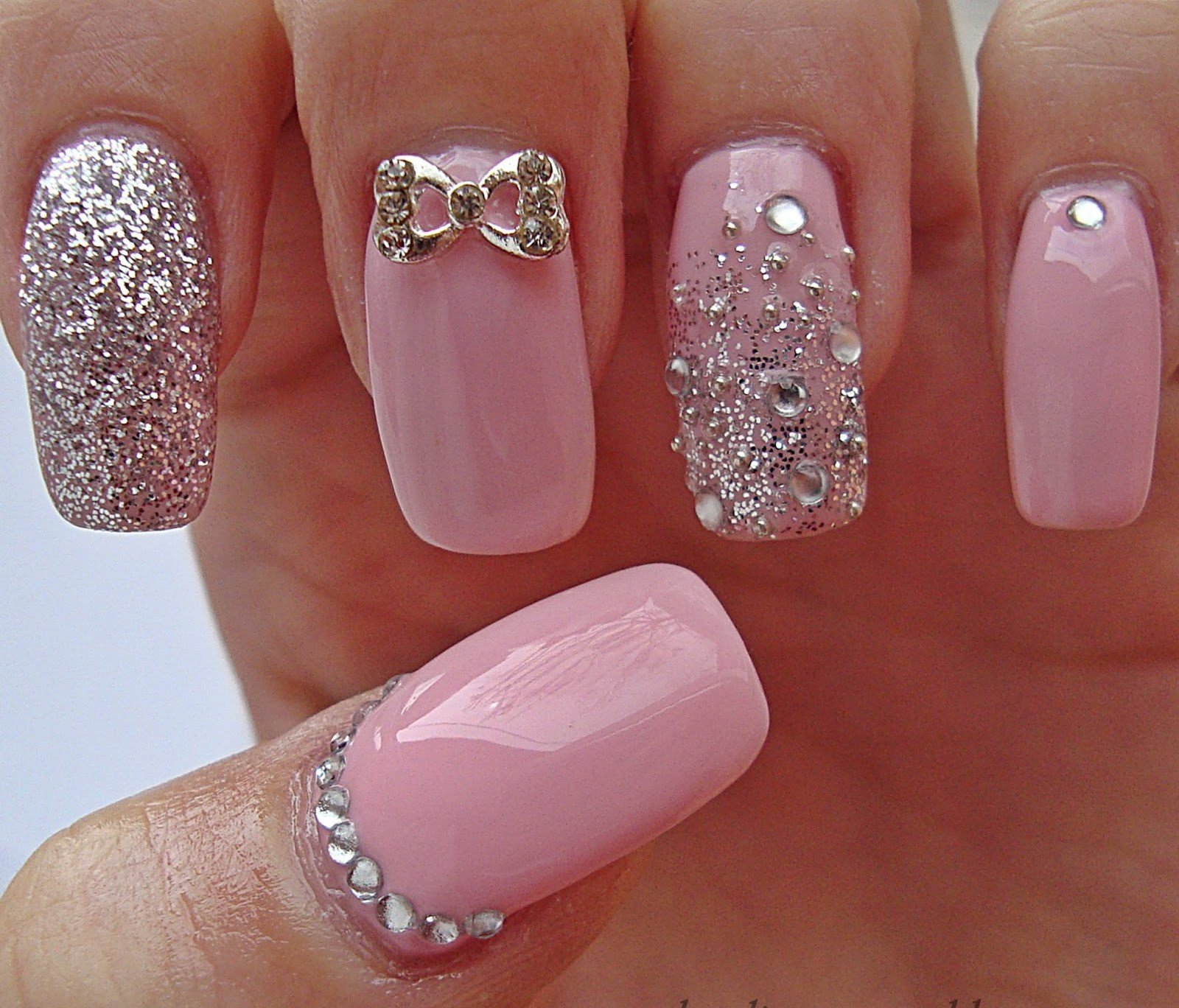 20 Rose Quartz Nail Designs For 2016 Pretty Designs