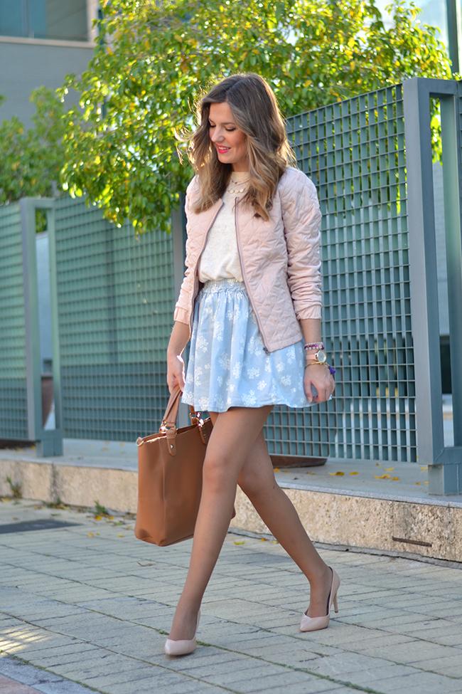 Serenity Print Skirt