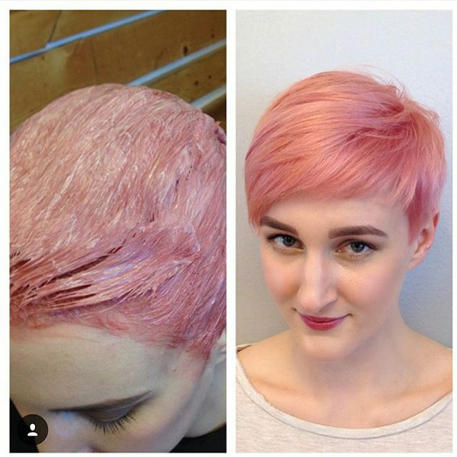 Cute Pink Pixie Haircut
