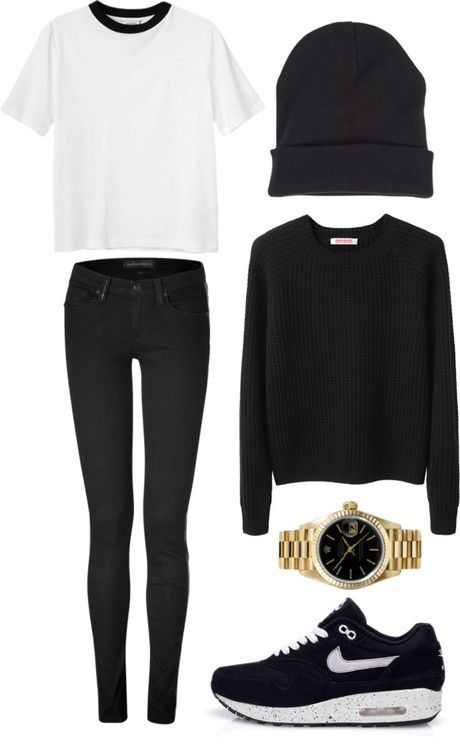 Simple Casual Look